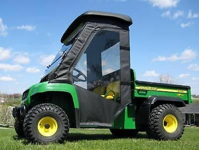 DOORS and REAR WINDOW Combo for John Deere Gator TS TX & Turf - Soft Material