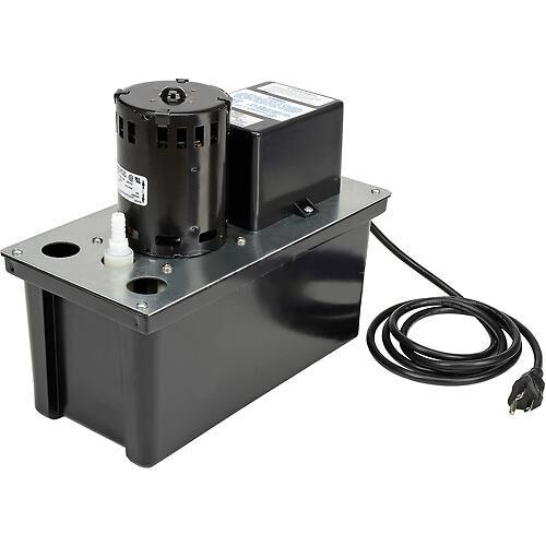 Condensate Removal Pump - 115 Volts - 270 GPH at 1' - 60 Hz - 2.5 Amps - 1/18 HP