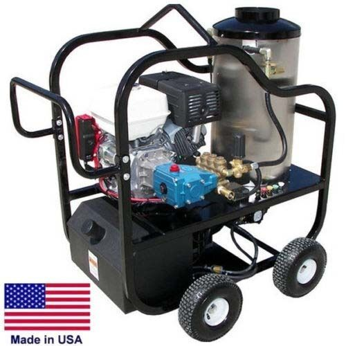 PRESSURE WASHER Portable - Hot Water - 4 GPM - 3200 PSI - 9 Hp Diesel - CAT Pump