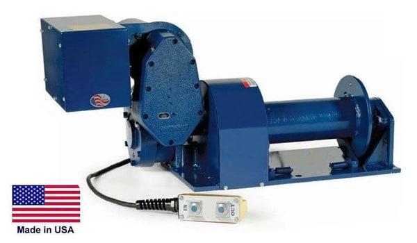 Electric HOIST & WINCH - 6,000 Lb Capacity - 230 Volts - Commercial & Industrial