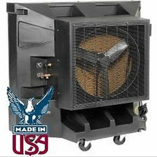 "Portable Evaporative Cooler - 36"" -  Direct Drive - Variable Speed - 6.3 Amps"