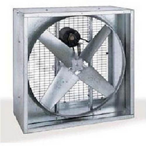 "AGRICULTURAL EXHAUST FAN - Belt Driven - 54"" - 4 Wing - AMPS 5.5 - Belt Driven"