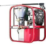Hot Water Pressure Washer - Gas - 4000 PSI - Diesel Heated - 12V - 4.8 GPM - 1PH