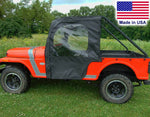 DOORS for Mahindra Roxor - Roll Away Doors - Soft Acrylic - Puncture Resistant