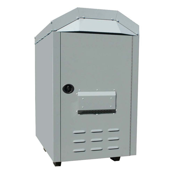 "Outdoor Furnace Heater - 3,000 Sqft - 180,000 BTU - 6"" Flue - 1,800 CFM Blower"