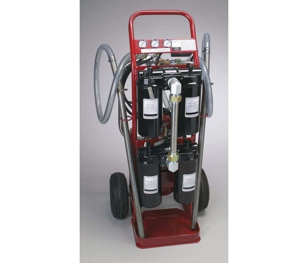 Hydraulic Filter System - Hand Truck - 1 1/2 HP - 115 Volts - 15.2 Amp - 120 PSI