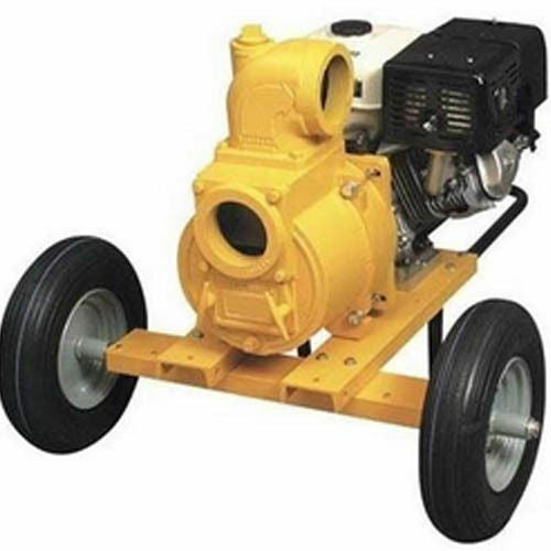 TRASH PUMP Portable with Wheel Kit - 37,800 GPH - 13 Hp - 630 GPM - Commercial