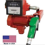 Fuel Transfer Pump - Automatic Nozzle - 1/3 HP - 115 Volt AC - 19 GPM - 1725 RPM