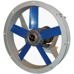 "12"" Flange Mounted SUPPLY FAN - 1150 CFM - 230/460 Volts - 3 Ph - 1/3 HP - TEFC"