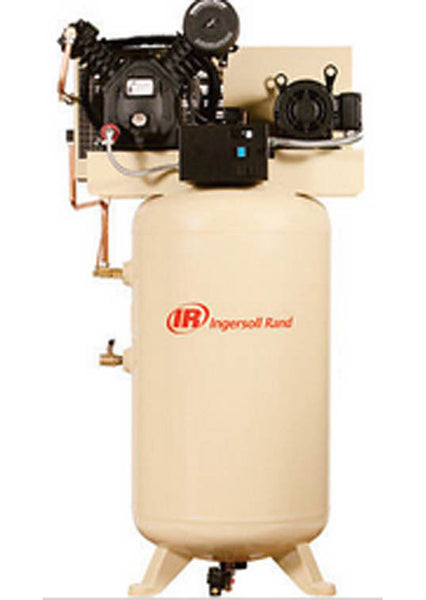1 Phase - Reciprocating Air Compressor - 7.5 HP - 230 Volts - Commercial Duty
