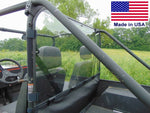 HARD REAR WINDOW for Mahindra Roxor - Travels Highway Speed - Commercial Duty