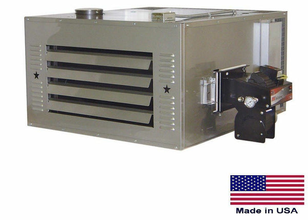 WASTE OIL HEATER - 150,000 BTU - Includes Roof Chimney Kit & 80 Gallon Fuel Tank