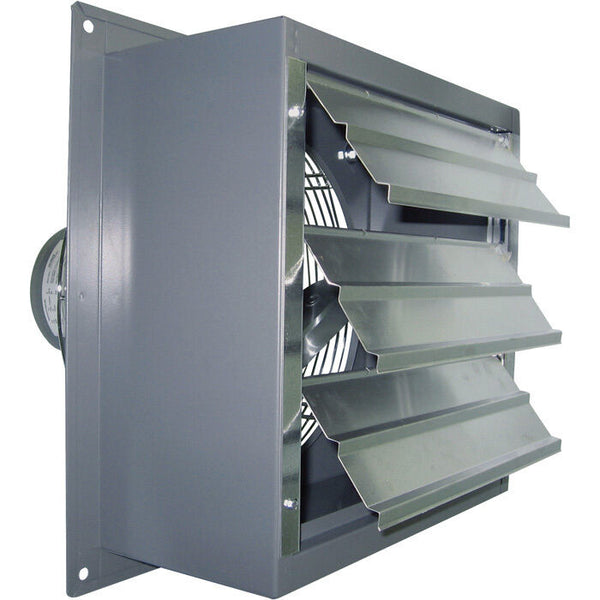 "36"" Wall Exhaust Fan - Single Speed - 1/3 HP - 12,000 CFM - 115/230 V - 1 Phase"