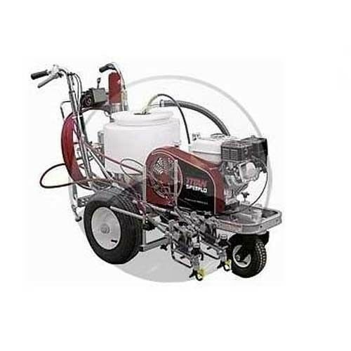 COMMERCIAL Asphalt Striping Machine - 169cc Subaru Engine - 12 Gallon - 1.5 gpm