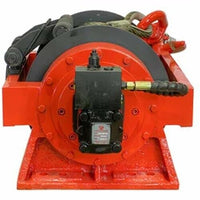 Hydraulic Winch - 22,000 LBS Capacity - High Torque Motor - 2 Stage Gearing