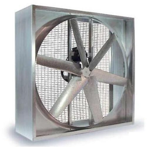 "54"" - Belt Driven - 115/230V - Single Phase - 1  Hp - 23,400 CFM - 6 Blade"