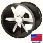 "42"" Explosion Proof Exhaust Fan 3 PH, 3 HP, 1140 RPM 24500 CFM, 230/460, 4 Blade"