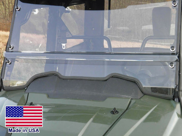 HARD WINDSHIELD for Honda 700-4 - Polycarbonate - Travels Highway Speeds
