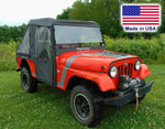 Mahindra Roxor ENCLOSURE - VENTED Hard Windshield, Roof, Doors, Rear & BED COVER