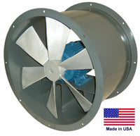 "12"" TUBE AXIAL DUCT FAN - Direct Drive - 1/2 Hp - 115/230V - 1 Phase - 1,875 CFM"