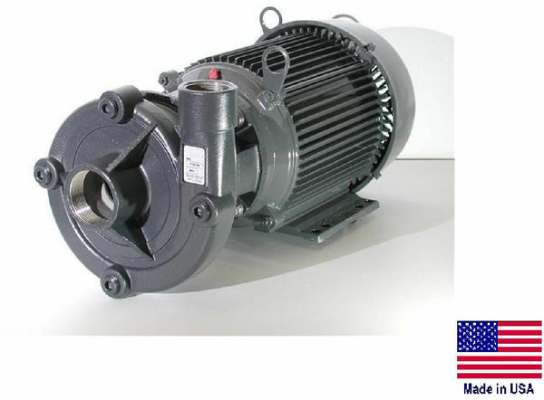 "STRAIGHT CENTRIFUGAL PUMP - Stain Steel - 3"" / 2"" Ports - 230/460V - 22,800 GPH"