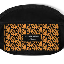 Load image into Gallery viewer, Stephen Arthur Orange Monogram Bumbag (Limited Edition)