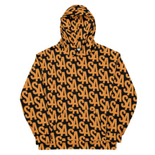 Load image into Gallery viewer, Stephen Arthur Orange Monogram Hoodie (Limited Edition)
