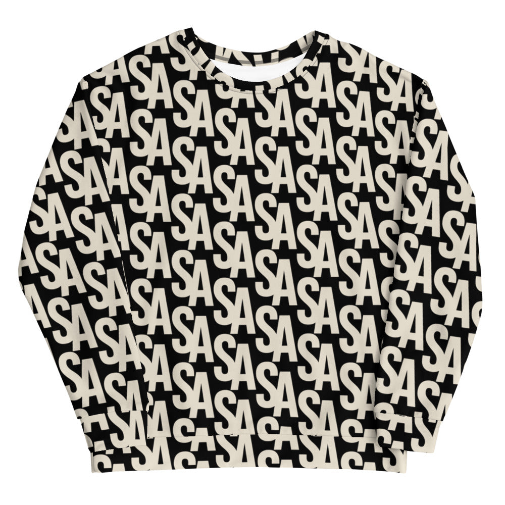 Stephen Arthur Beige Monogram Sweatshirt (Limited Edition)