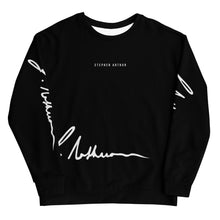 "Load image into Gallery viewer, Stephen Arthur ""Signed Out"" Sweater"