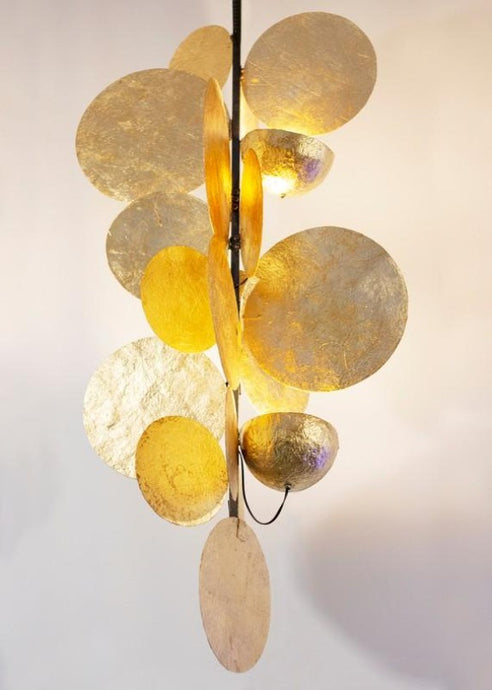 ceiling lamp sculpture light art emergent