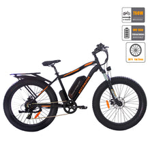 Load image into Gallery viewer, Fat Tire Mountain Electric Bicycle 48V 13AH 750W Electric Bike ebike