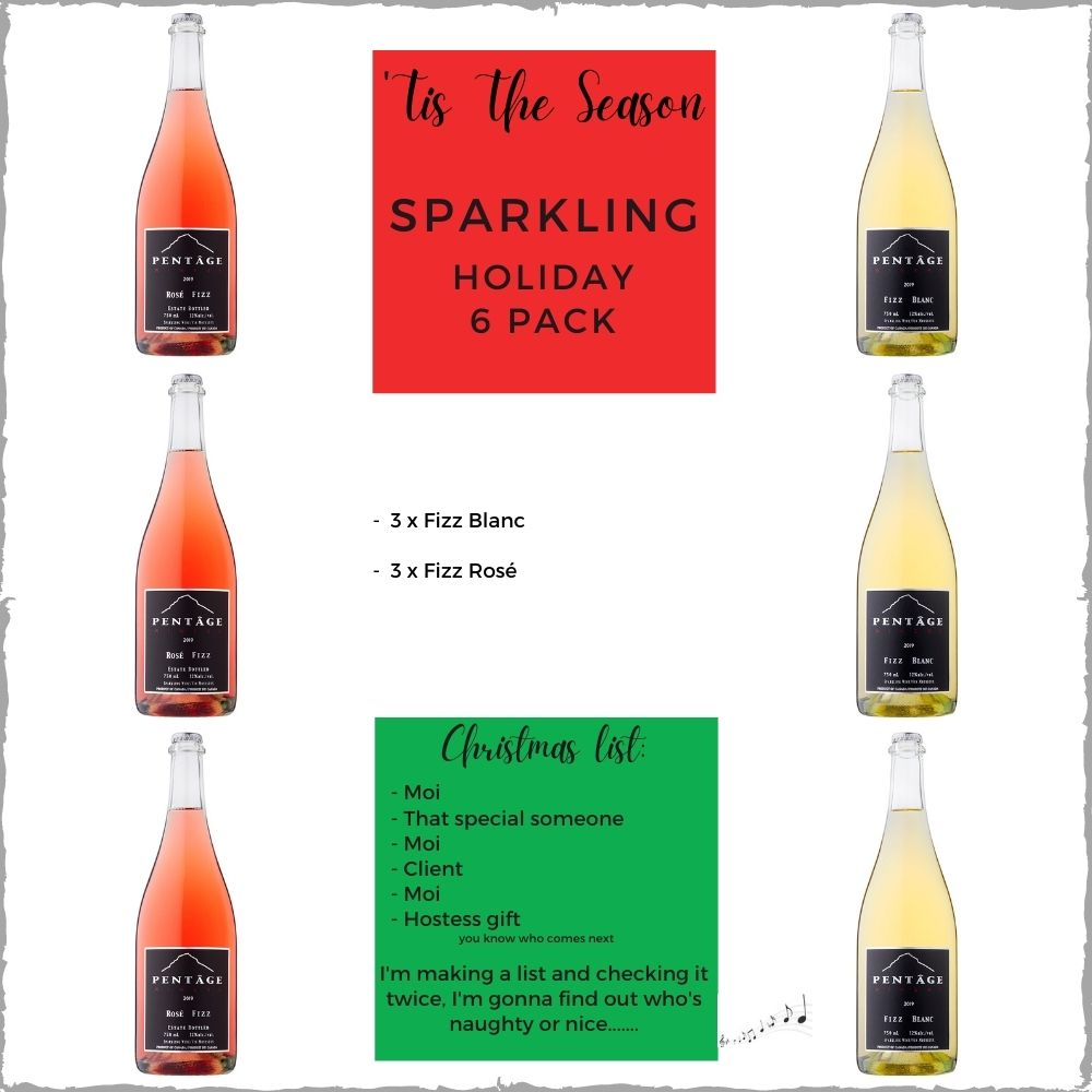 SPARKLING Holiday 6 Pack