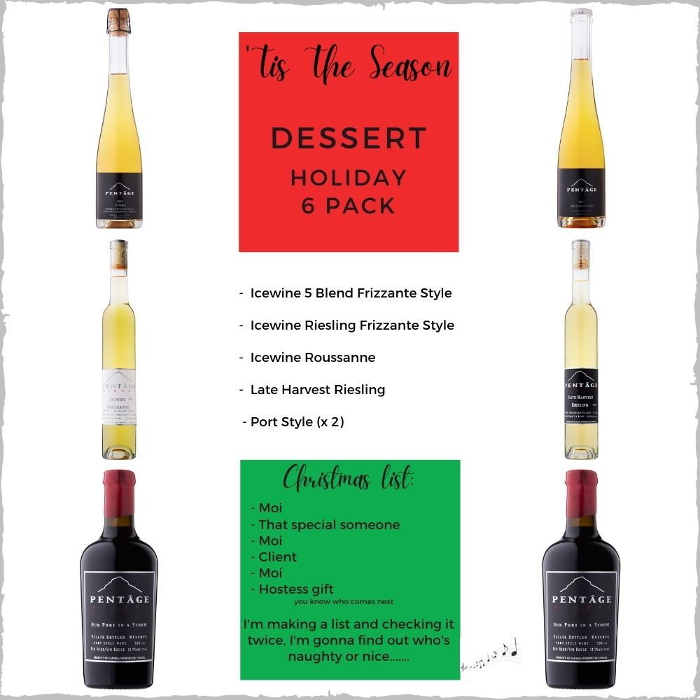 DESSERT Holiday 6 Pack
