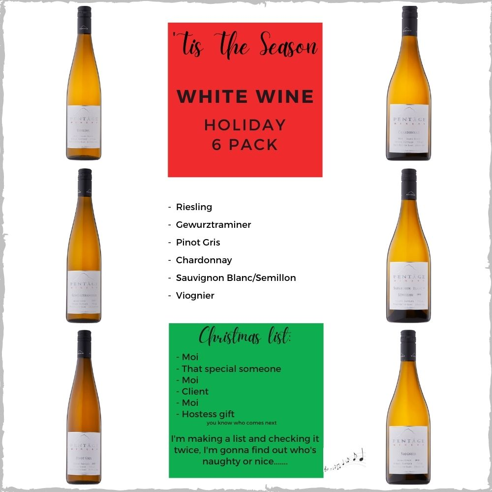 WHITE WINE Holiday 6 Pack
