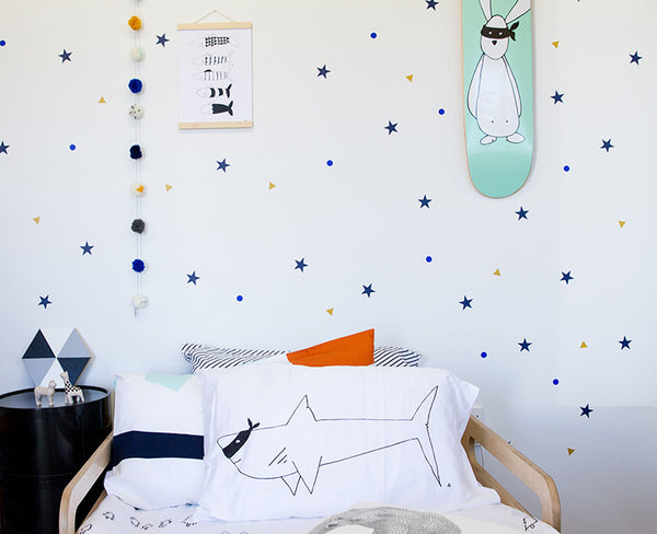 Mix n Match Wall Decals - Mix up your colours - Large