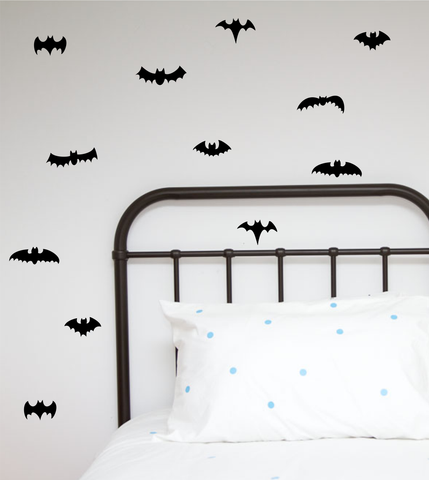 Bat mixture Wall Stickers - Wall decals - 100 Percent Heart