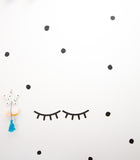 Sleepy Eyes - Awake Eyes - Wall Decals