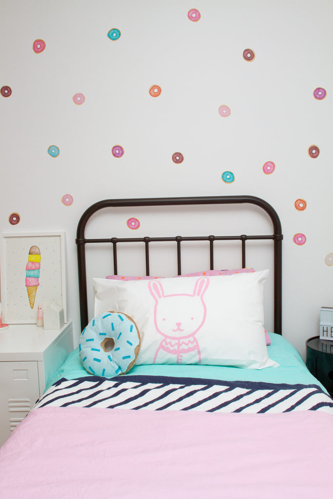 Donuts Wall Stickers - Wall decals - 100 Percent Heart