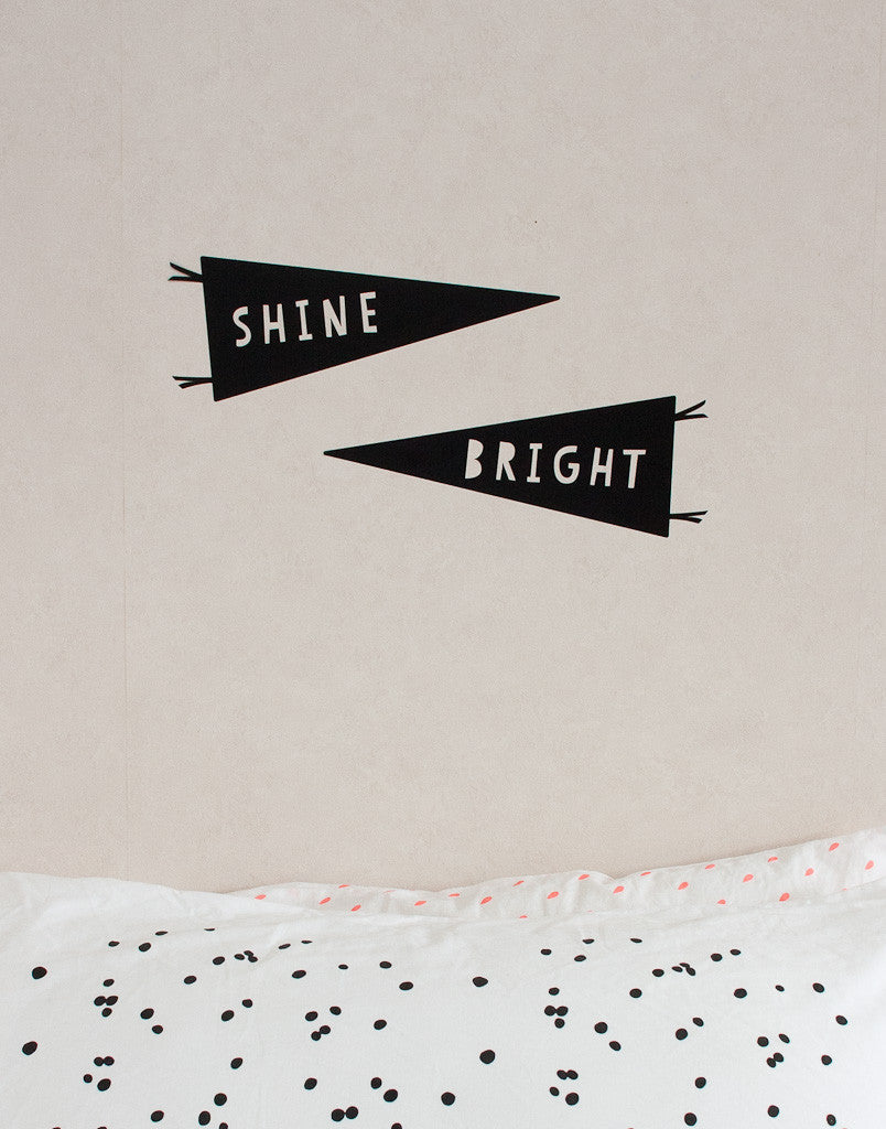 Shine Bright Wall Decal