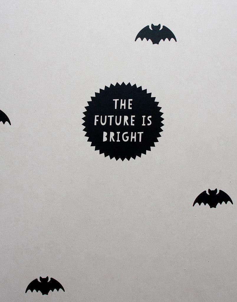 The Future is Bright Wall Decal - Wall decals - 100 Percent Heart