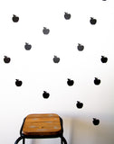Apple Wall Stickers - Wall decals - 100 Percent Heart
