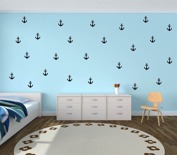 Anchor Wall Stickers - Wall decals - 100 Percent Heart