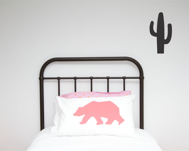Cactus Single Wall Sticker