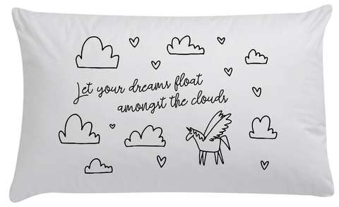 Unicorn Dreams Organic Pillowcase - PRE ORDER