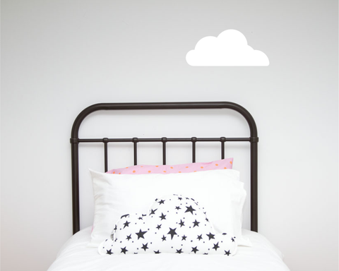 Cloud Single Wall Sticker - Wall decals - 100 Percent Heart