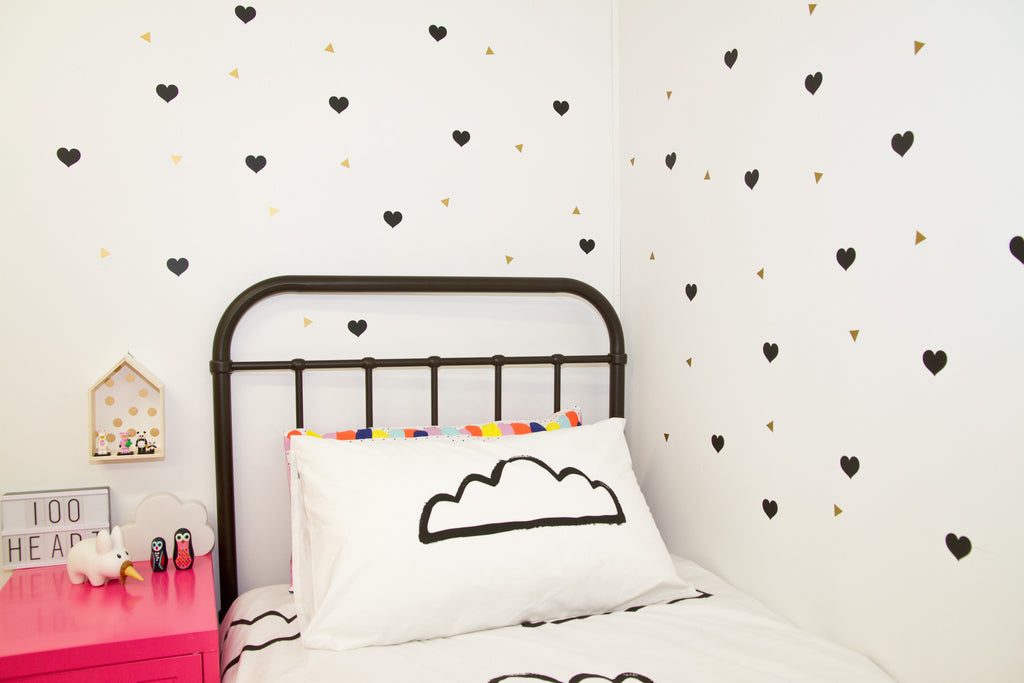 Mix n Match Wall Decals - Mix up your colours - Small - Wall decals - 100 Percent Heart
