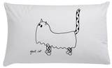 GhostCat Organic Pillowcase