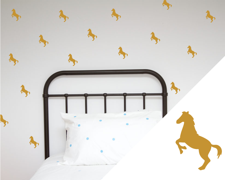 Horses Wall Stickers