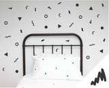 Jumbled Wall Stickers - Wall decals - 100 Percent Heart
