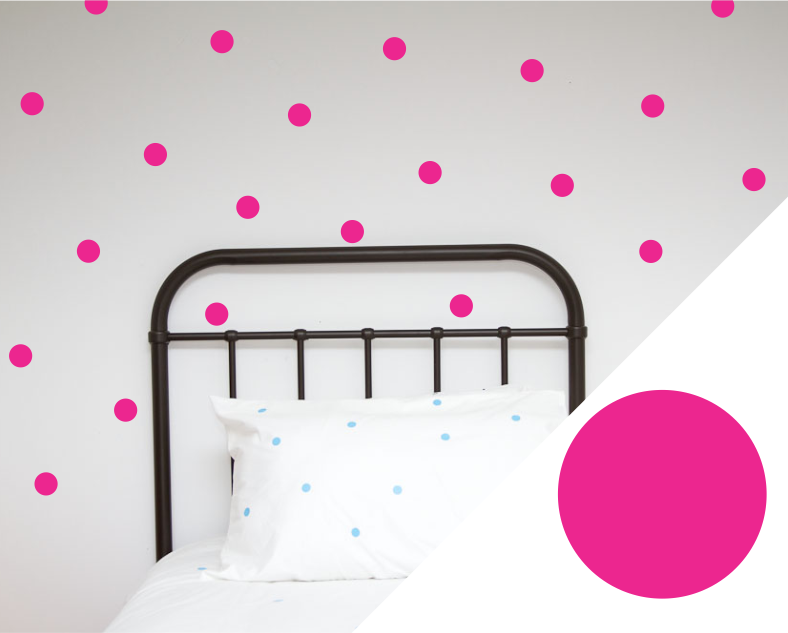 Polka Dot Wall Stickers - Large - Wall decals - 100 Percent Heart